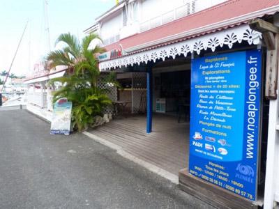 Noa plongée club de plongée en Guadeloupe