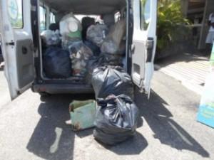Nettoyage cotes Noa plongée Guadeloupe