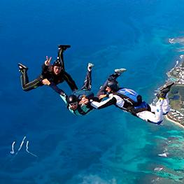 caraibe parachutisme Guadeloupe